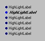 THighLightLabel - 5400 bytes